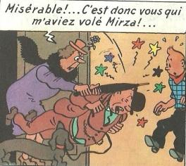 Mirza dans Tintin en Amérique
