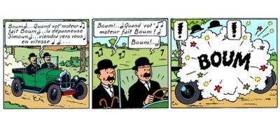 Dupond et Dupont - Boum