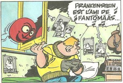 Boule et Bill - Frankenstein